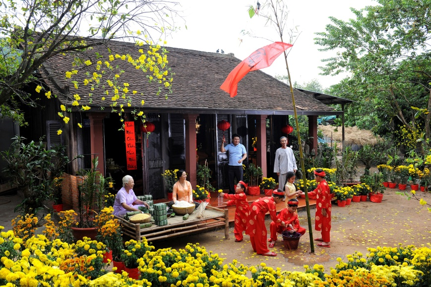 Tet, the biggest public holiday in Vietnam